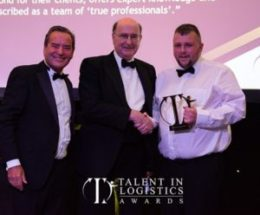 Small Training Solutions Wins Forklift Training Provider of the Year at Talent in Logistics Awards 2018