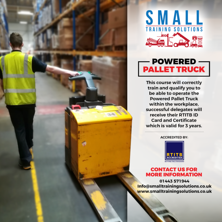 Powered Pallet Truck training cardiff