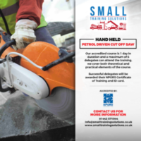 Petrol Driven Cut Off Saw training available