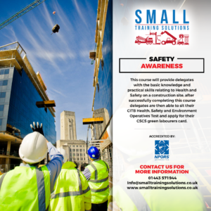NPORS Safety Awareness (Labourer)
